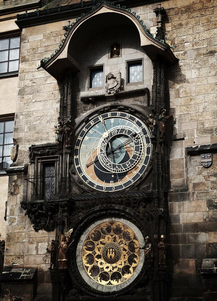 Den astronomiske klokken.